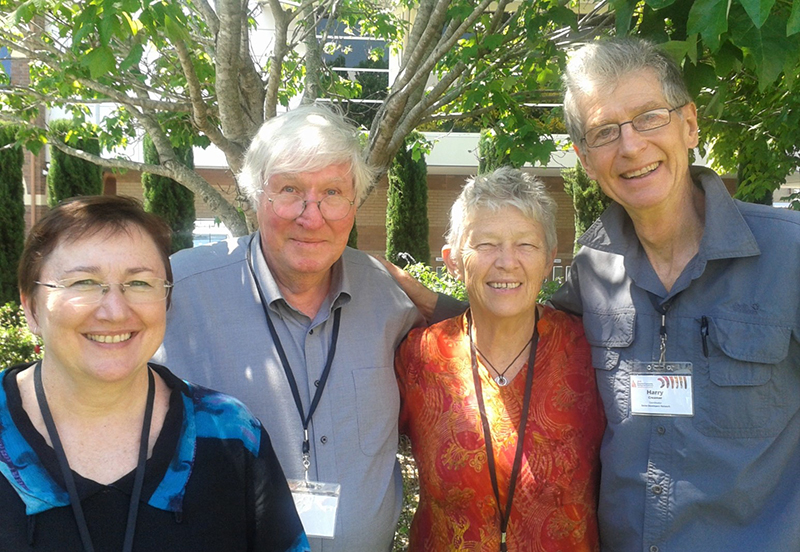Tina Lathouras, Tony Kelly, Kath McLachlan and Harry Creamer