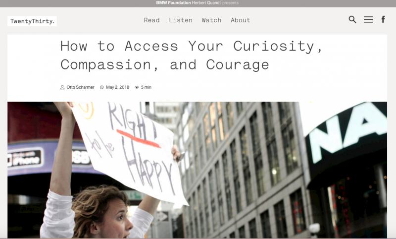 How to Access Your Curiosity, Compassion, and Courage