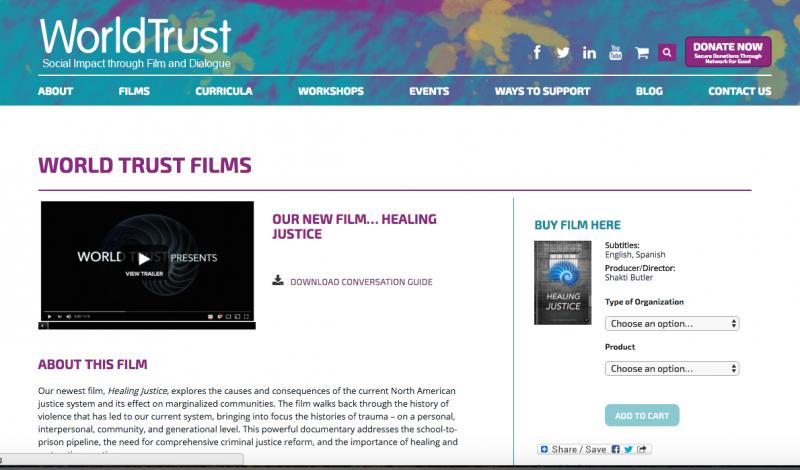 WORLD TRUST FILMS - HEALING JUSTICE