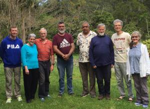 Participants at the Falls Forest workshop in September 2020